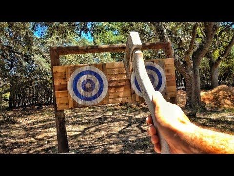 Throwing Axe Range