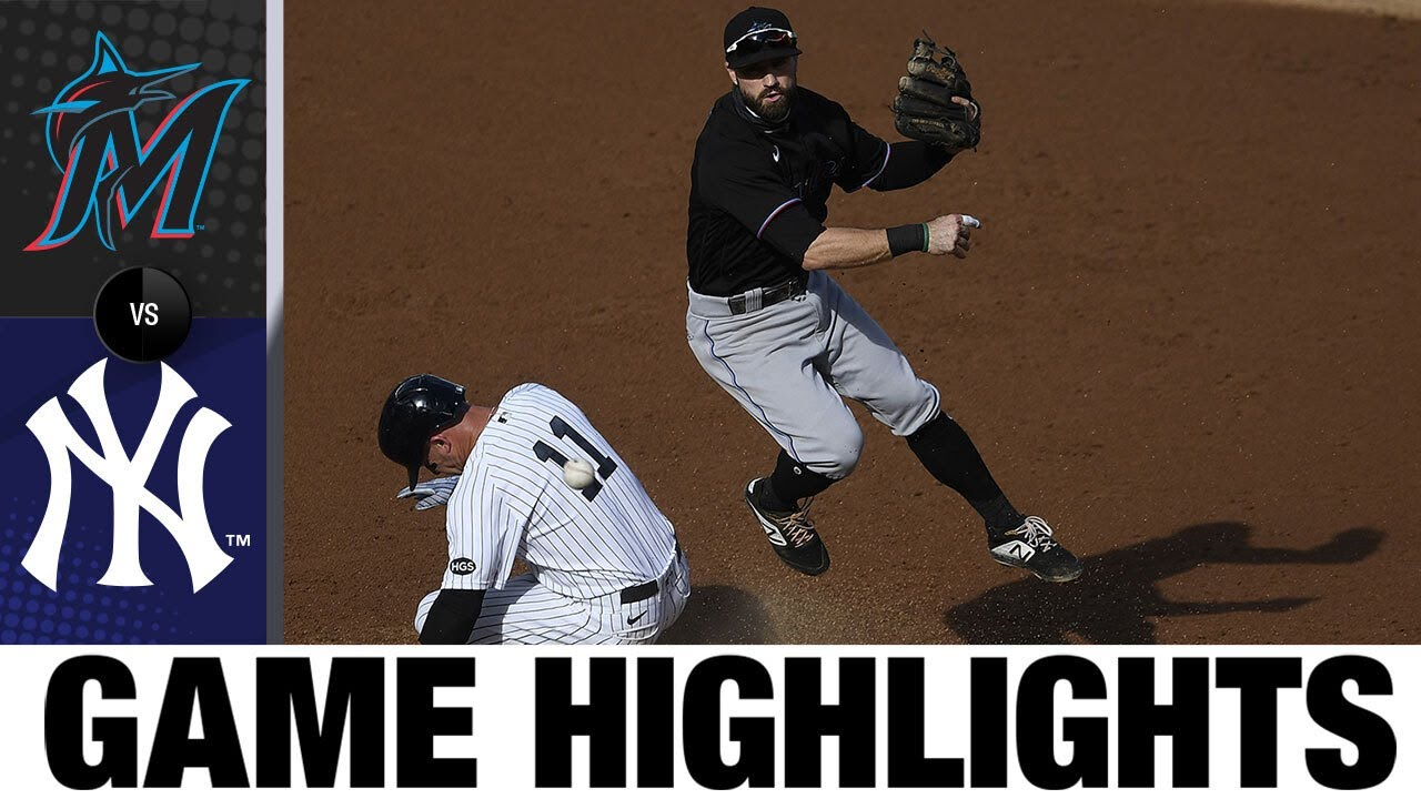 Jazz Chisholm, Daniel Castano lead Marlins to 5-0 win | Marlins-Yankees Game Highlights 9/27/20