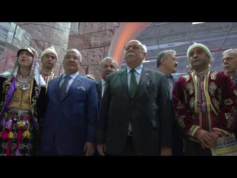 Travel Turkey İzmir Fuar ve Kongresi açılış töreni