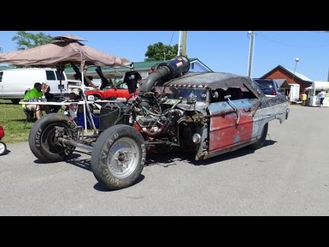 Snake Dunlap S Bad Rat Rod 2016 Redneck Rumble Spring Edition You