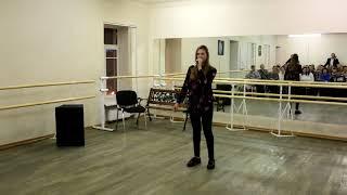 Класс-концерт вокалистов. Песня на английском языке