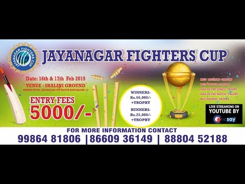 JAYANAGAR FIGHTERS CUP  || DAY 2 ||