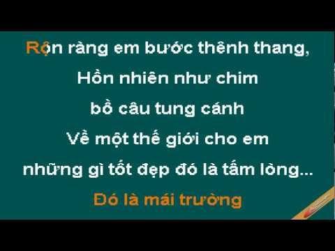 Khoảng Trời Của Bé Karaoke - Thùy Chi - CaoCuongPro