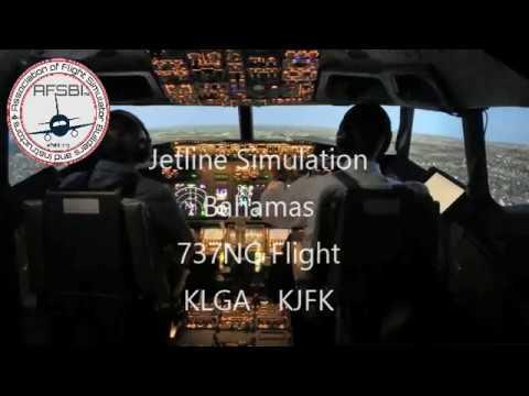 Jetline Simulation Bahamas 737NG