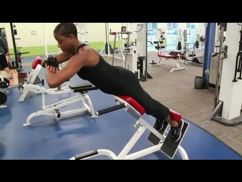 The Ab Bench Back Extension Training Body Sculpting Youtube