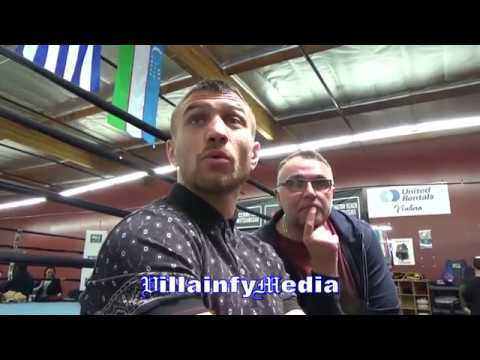 LOMACHENKO DEFENDS GOLOVKIN; EXPLAINS WHY JACOBS DIDN'T BEAT HIM?