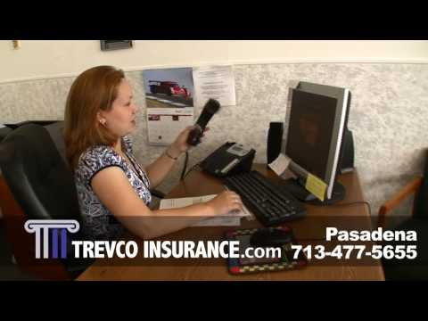 Trevco Auto Insurance Pasadena Texas: Car Insurance