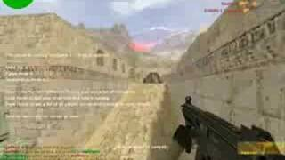 Counter Strike 1.6 gameplay Gun Game