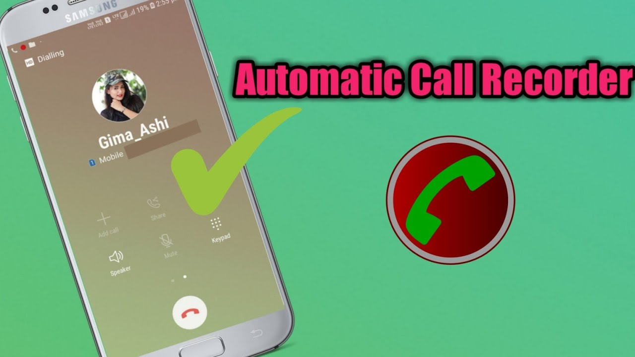 Automatic Call Recorder For Android - Automatic Call Recorder (HD Voice)
