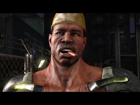 Mortal Kombat X  Carl Weathers Jax All Interaction Dialogues