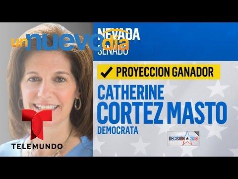 Catherine Cortez Masto es la primera latina en el Senado | Un Nuevo Día | Telemundo