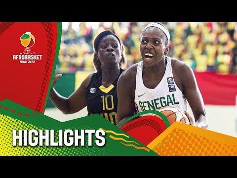 Senegal v Guinea - Highlights - FIBA Women's AfroBasket 2017