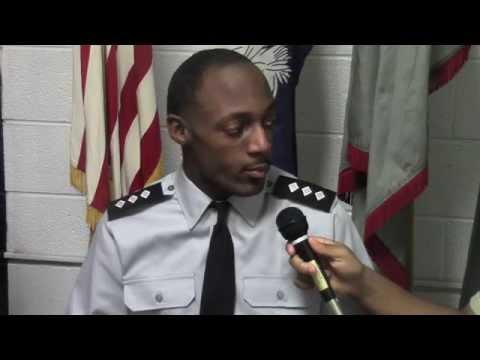 Tyrone Abraham, Marlboro County High School - Army JROTC Cadet Colonel