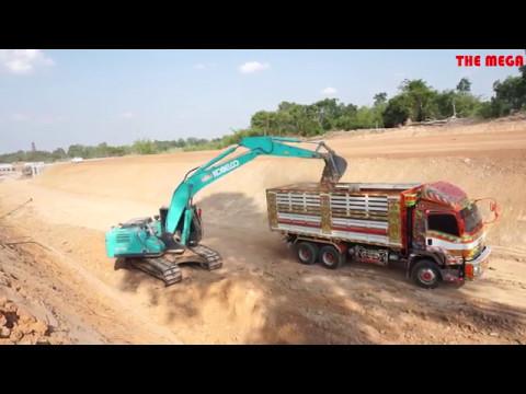 แบคโฮ Excavator Kobelco sk 200-10  ขุดดินแข็ง ทำถนน มุมมองใหม่