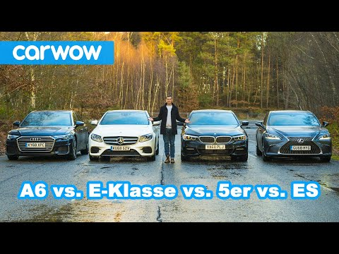 audi-a6-vs.-bmw-5er-vs.-mercedes-e-klasse-vs.-lexus-es---welcher-ist-am-besten?