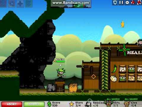 Обозревание игры -  Город в осаде 3: Осада джунглей (City Siege 3 - Jungle Siege)