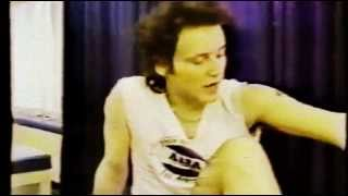 Adam Ant - Knee Injury [Rare Footage]