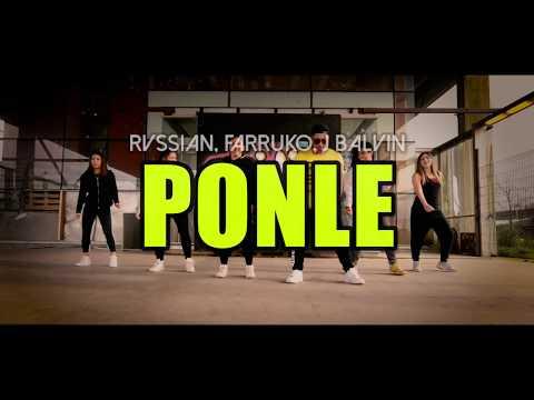 PONLE - Rvssian, Farruko, J Balvin (Coreografía ZUMBA) / LALO MARIN