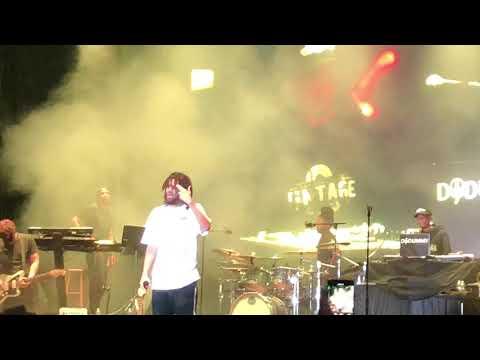 J. Cole performs 1985 (Acapella)