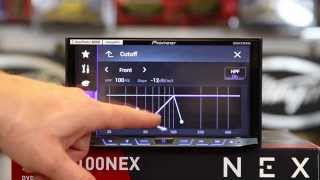 How to use the new sound settings on the Pioneer AVH 4100, Avic 5100, 6100, 7100, 8100 NEX
