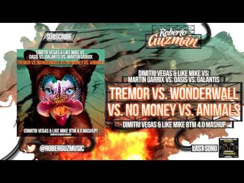 DV&LM vs Martin Garrix vs Oasis vs Galantis - Wonderwall vs Animal Tremor  x No Money (DV&LM Mashup)