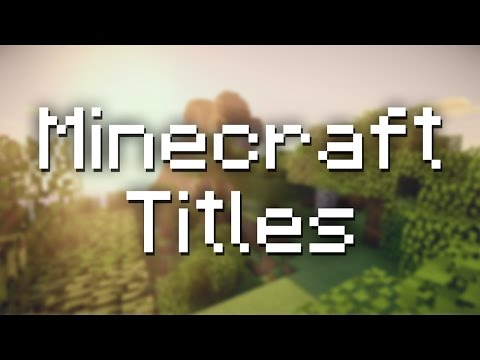 How to Use the New Title Command in Minecraft 1.11