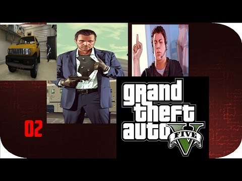 Grand Theft Auto 5 - Part 2 - You Can't Repo The Assets of a Dead Man (GTA Let's Play/Walkthrough)