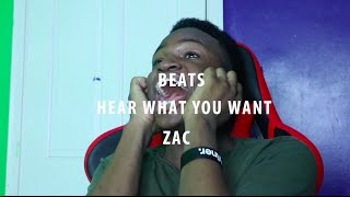 "If Zac was in a ""beats"" commercial"