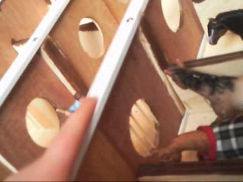 Homemade Schleich Wooden Barn Sliding Doors Youtube