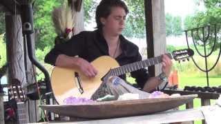Thomas Zwijsen (Nylon Maiden) - Live at summer festival 2013