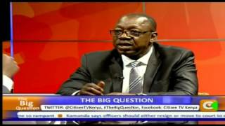 Big Question interview with Devolution PS Peter Mangiti