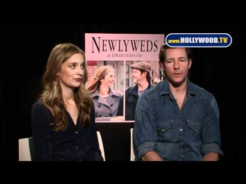 Edward Burns and Caitlin Fitzgerald from