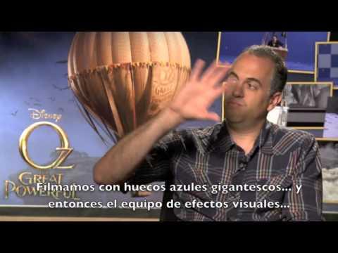¿Cómo crearon el mundo de Oz ? Scott Stokdyk, Director de Efectos Visuales.