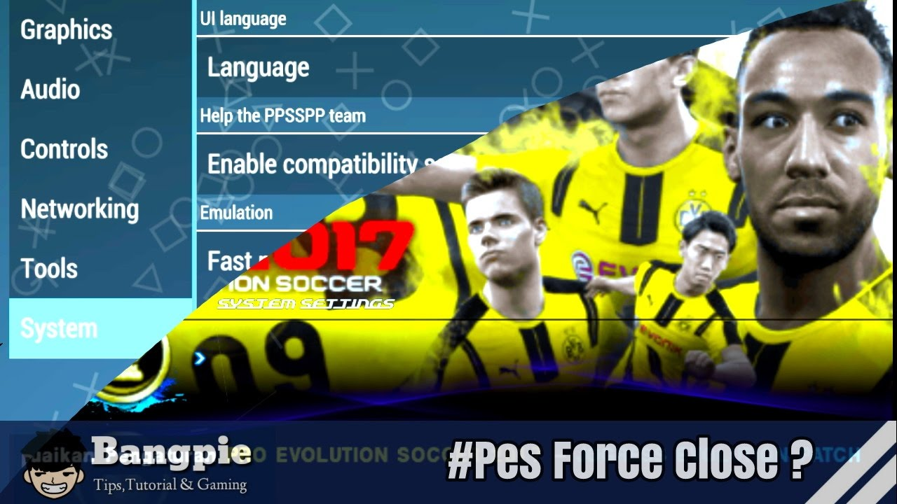 Cara Mengatasi Force Close Pes PPSSPP - downloa.dk