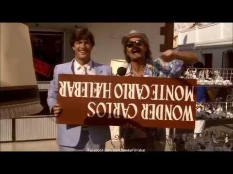 Walter og Carlo  op på fars hat 1985