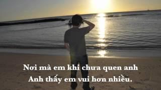 Tìm Lại Bầu Trời [Lyrics] Tuấn Hưng