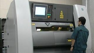 都産技研 金属3Dプリンター(金属粉末積層造形装置)による造形