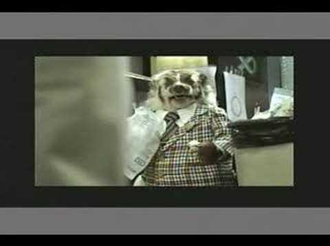 badger salesman doll