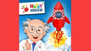 A Funny Rocket Constructor Game App for Kids, iPad iPhone