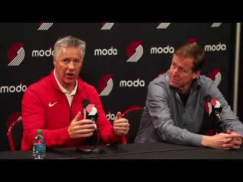 Canzano: In final performance of the season, Trail Blazers GM Neil Olshey goes on defense