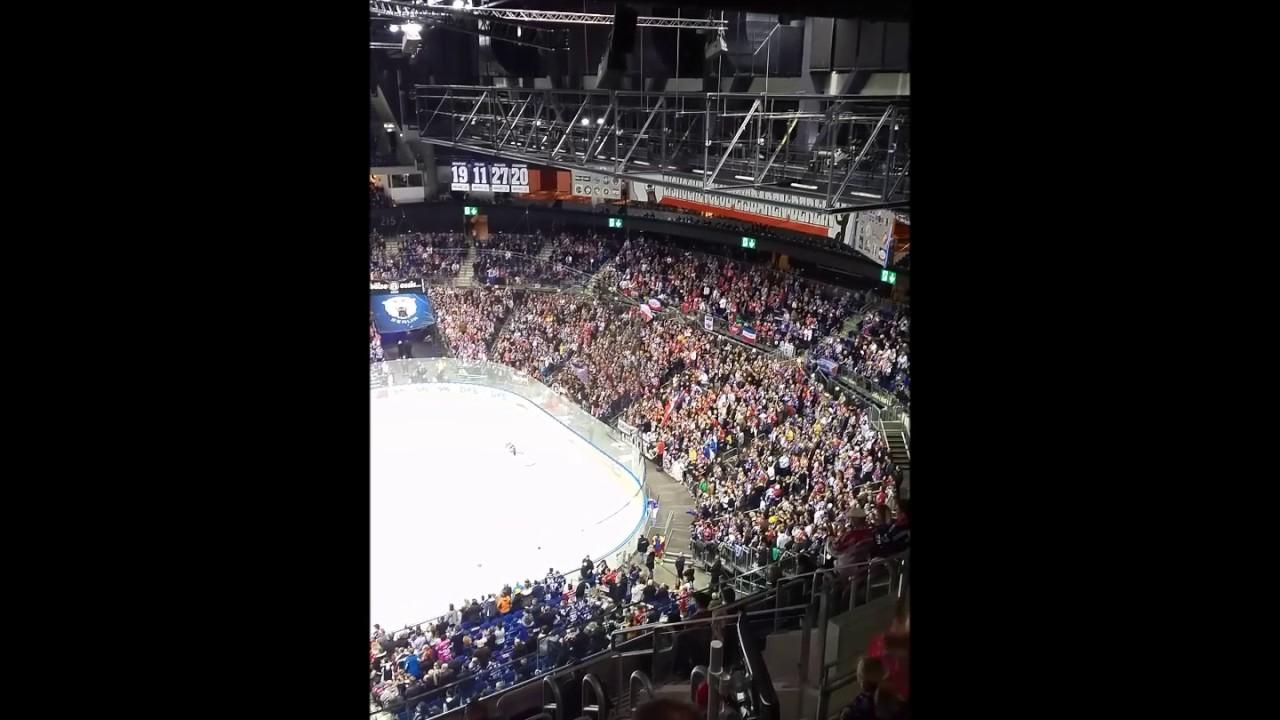 eisbären-fans rocken die mercedes-benz arena (23.12.2016) - youtube