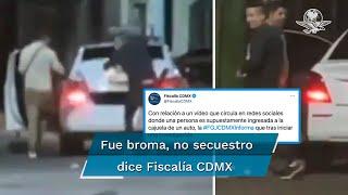 Un video se hizo viral en redes sociales debido a que denunciaban el secuestro de un joven; sin embargo, al corroborar la información mediante una investigación, la FGJ informó que se trató de una broma