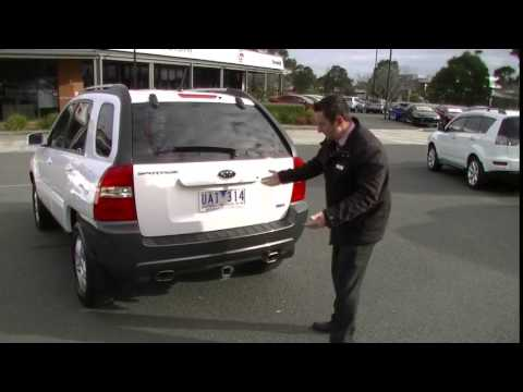 2006 KIA SPORTAGE KM REVIEW - B4550