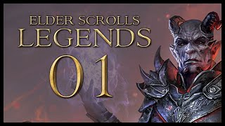 Let's Play The Elder Scrolls: Legends Gameplay Part 1 (TOOK A CARD TO THE KNEE! SPECIAL FEATURE)