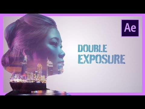 Double Exposure Adobe After Effects CC Tutorial thumbnail