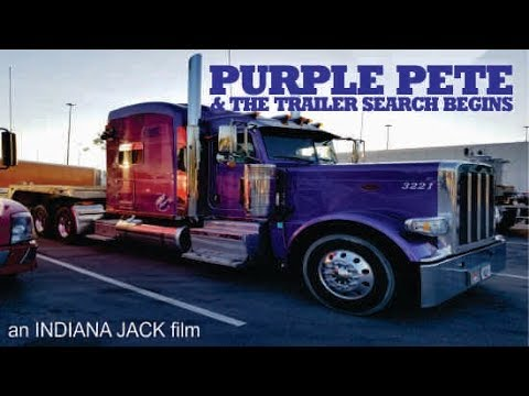Purple Pete and the Trailer Search Begins