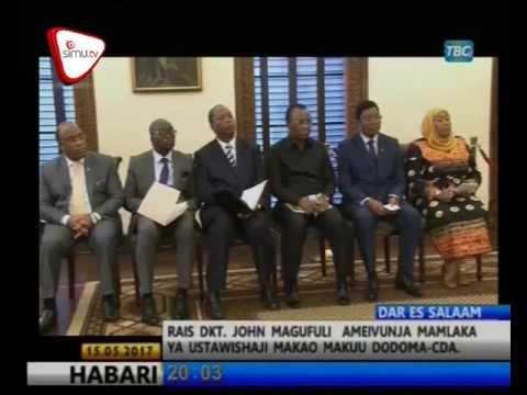 Rais Magufuli Avunja Rasmi CDA Dodoma