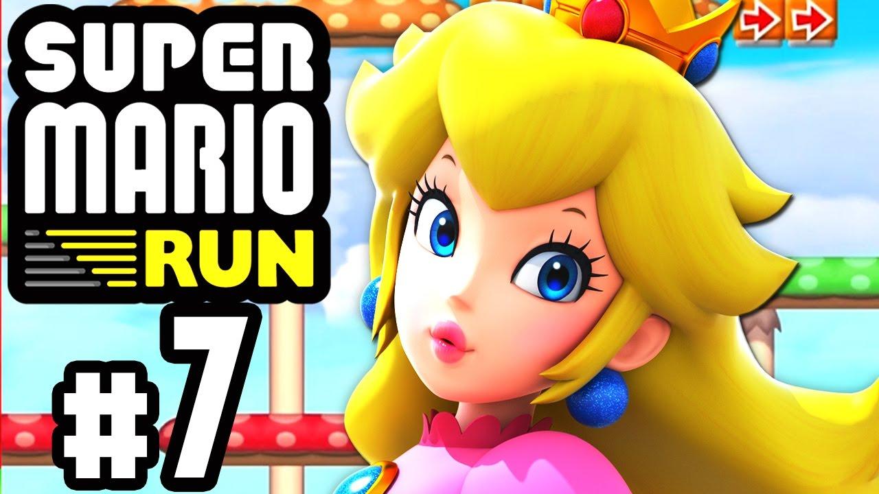 Super Mario Run 07 Lila Und Schwarze Münzen Jagd Hd60 Lets