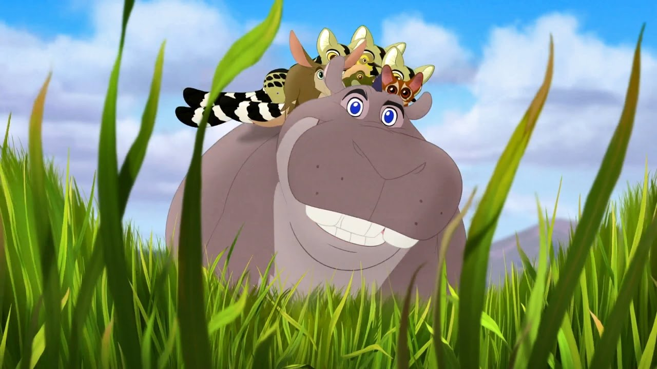 the lion guard beshte and the hippo lanes