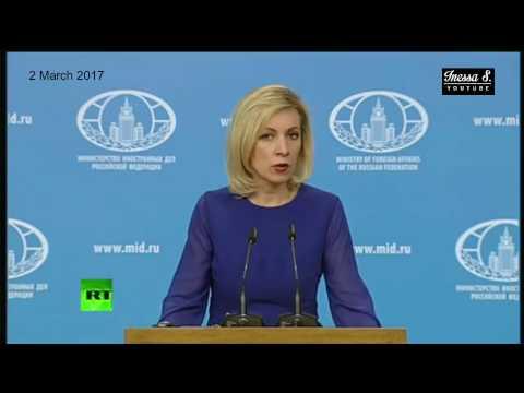 Zakharova warns of Orwellian US Media 2.03.17